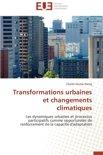 Transformations Urbaines Et Changements Climatiques