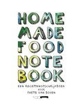 Home made food note book