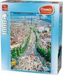 Comic Barcelona - Puzzel - 1000 Stukjes