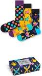 Happy Socks Party Animal Singing Birthday Giftbox - Maat 36-40