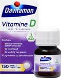 Davitamon D Volwassenenol smelttabletten - 150 stuks - Voedingssupplement
