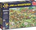Jan van Haasteren Grasmaaierrace - Puzzel 1000 Stukjes