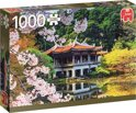 Bloesem in Japan Premium Quality - Puzzel 1000 stukjes
