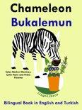 Bilingual Book in English and Turkish: Chameleon - Bukalemun - Learn Turkish Series