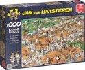 Jan van Haasteren Tennis - Puzzel 1000 stukjes