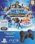 Sony PlayStation 3 Wireless Dualshock Contoller - Zwart PS3 + PlayStation Allstars Battle Royal