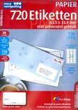 Easy Computing 720 Etiketten