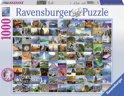 Ravensburger 99 mooi plekken op aarde - Puzzel van 1000 stukjes