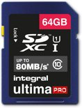 Integral UltimaPro 64GB - SDXC Geheugenkaart