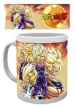 DRAGON BALL Z - Mug - 300 ml - Super Saiyans
