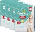 Pampers Baby-Dry Nappy Pants - Maat 5 (Junior) 12-17 kg - 4 x 21 Stuks - Luierbroekjes