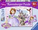 Ravensburger Disney Sofia Sofia's koninklijke avontuur - Twee puzzels van 24 stukjes