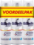 Gillette Series Irritation Defense - 3x200ml - Scheergel