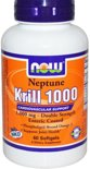 Neptune Krill Olie 1000mg - 60 Softgels - Now Foods - Visolie - Voedingssupplement