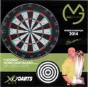 XQ Max Worldchampion 2014 - Dartbord