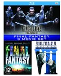 Final Fantasy VII: Advent Children / Final Fantasy: The Spirits Within / Kingsglaive: Final Fantasy XV ( Blu-ray)