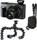 Canon PowerShot SX720 HS Travel Kit - Zwart