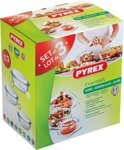 Pyrex Essentials Ovenschalenset 2,3 - 1,6 - 1 l - set van 3