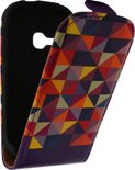 Mobilize Ultra Slim Flip Case Samsung Galaxy Young S6310 Viola Triangle