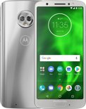 Motorola Moto G6 - 32GB - Dual Sim - Silver (zilver)