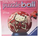 Ravensburger Puzzle ball hello kitty op scooter 7cm