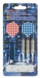 Echowell Softip Dartset 100 Stuks - Blauw/Rood
