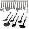 19delig keukengerei kookgerei set kook accessoires 401151