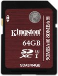 Kingston SDXC UHS-I U3 Card 64GB