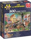 Jan van Haasteren Vang Die Kat! - Puzzel 500 stukjes