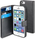muvit iPhone 5 / 5S / SE Wallet Case with 3 cardslots black