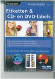 Easy Computing Pc Drukkerij 7.5 Etiketten - DVD-Rom