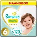 Pampers Premium Protection - Maat 6 (Extra Large) 15+ kg - Maandbox 120 Stuks - Luiers