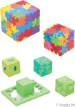 Happy Cube Family 24-pack cube brain teasers