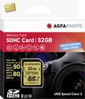 AgfaPhoto SDHC kaart UHS I 32GB Professional High Speed U3 90/80