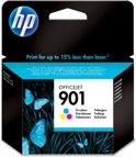 HP 901 - Inktcartridge / Cyaan / Magenta / Geel (CC656AE)