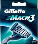 Gillette Mach 3 - 8 stuks - Scheermesjes