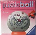 Ravensburger Puzzle ball hello kitty op draak 7cm