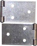 Qlinq Klepscharnier RVS - 100 x 32 mm