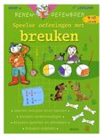Rekenen oefenboek - Speelse oefeningen met breuken 9-10 j