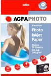 Super Photo Glossy Paper, A4, 240 grs, 50 vel