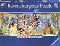 Ravensburger Disney Disney groepsfoto - Panorama puzzel van 1000 stukjes