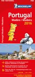 Portugal 11733 carte 'national' 2016 michelin kaart
