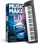Magix Music Maker 2016 Live Control inclusief Keyboard - Nederlands