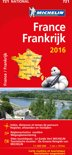 France Frankrijk 11721 carte 'national' 2016 michelin kaart