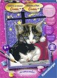 Ravensburger schilderen op nummer Knuffelende katjes