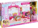 Barbie Glam huis Value Pack met 2 poppen
