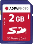 AgfaPhoto SD Memory cards 2GB SD flashgeheugen