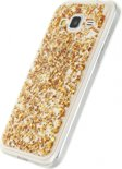 Xccess Glitter TPU Back Cover Samsung Galaxy Grand Prime/VE Clear Goud
