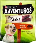 AdVENTuROS Mini Sticks - Buffelwildsmaak - Hondensnack - 90 g