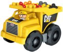 Mega Bloks CAT Large Vehicle Dump Truck - Constructiespeelgoed